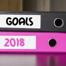 2018 Letter Writing Goals & Organization