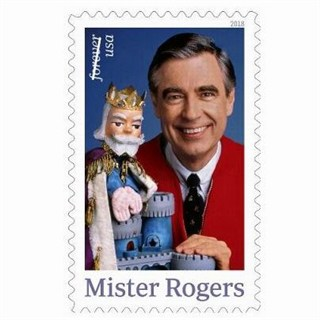 Mister Rogers Forever 2018 Stamp & 1996 Book