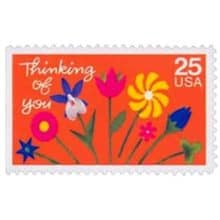 Thinking of You 1988 Stamp