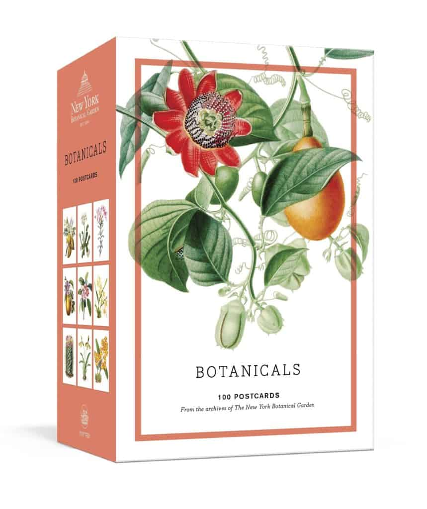 Botanicals 100 Postcards from the Archives of the New York Botanical GardenCards