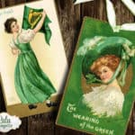 St Patricks Day Digital Collage SheetPrintable