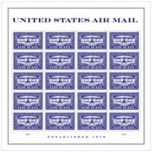 United States Air Mail Blue Forever Stamp Anchoredscrapscom - United-states-forever-stamps