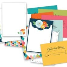Polka Dot Paper Company: Open this When Stationery Set