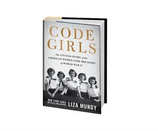 Old written letters & Code Girls by Liza Mundy