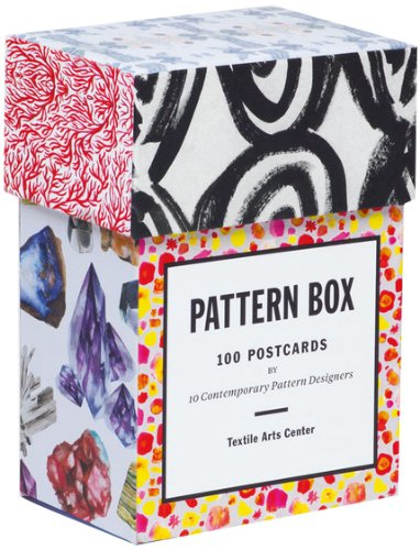 Pattern Box Contemporary Patterns Postcards