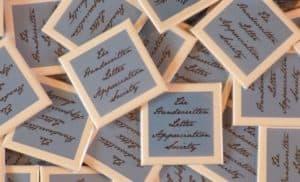 The Handwritten Letter Appreciation Society shiny badge