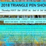 2018 TRIANGLE PEN SHOW