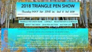 2018 TRIANGLE PEN SHOW
