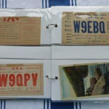 Part 2 Skidmore Vintage QSL Card Collection