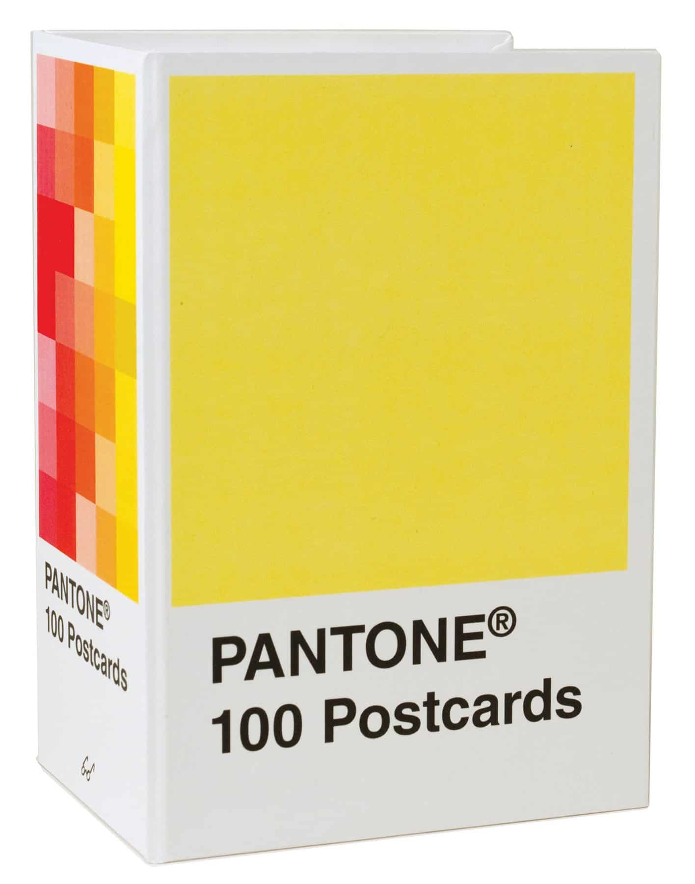 Discovering Pantone Postcard Book