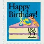 1987 22c Happy Birthday!  U.S. #2272 Stamp; for Celebrating May 10 BirthDAYS post
