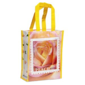 843129-Z0 peace rose tote bag small