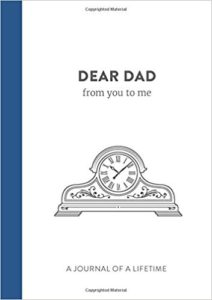 Dear Dad from you to me Memory Journal 2017
