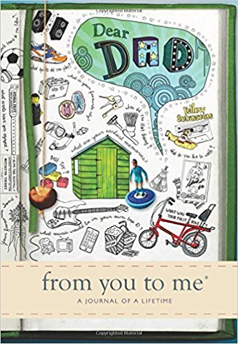 Dear Dad Lifetime Memory Journal 'from you to me'