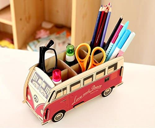 Pen Pencil Holder Stationery Organizer GMissT.
