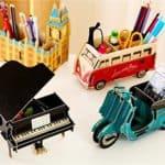GMissT DIY Pen Pencil Holder Stationery Organizer