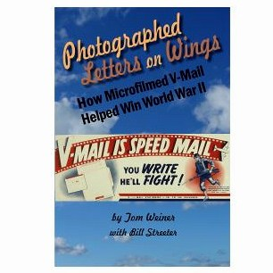 Photographed Letters on Wings V-Mail book