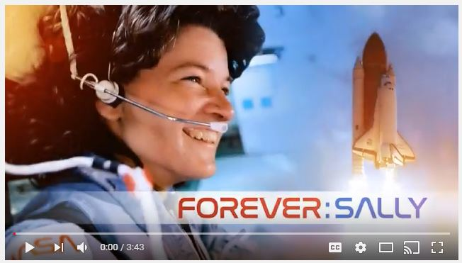 Honoring Sally Ride Forever Stamp 2018
