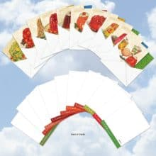 Retro Jell-O Desserts Assorted Blank Note Cards