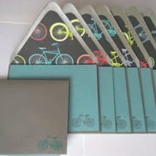 Bicycle Stationery built for eight