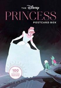 Disney Princess Postcards 100 Box Set cover