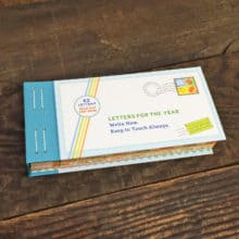 Lea Redmond's Letters For The Year letter writing book
