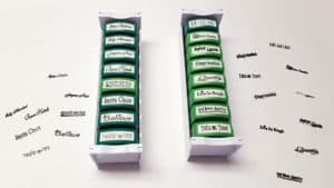 MessageStor 16 Self-Inking Holidays Stamps