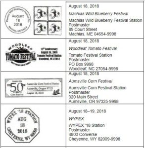 Pictorial Postmarks Reflecting 81818
