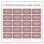 United States Air Mail Red Forever Stamp