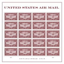 United States Air Mail Red Forever Stamp (Think 2 of 2)