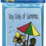 Dog Days Of Summer Edible Crunch Card