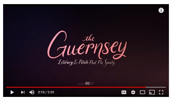 Movie The Guernsey Literary and Potato Peel Pie Society