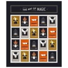 USPS The Art of Magic Forever Stamp 2018