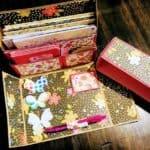 DeedersCraftyCorner Handmade Paper Stationery Gift Box & Notecards