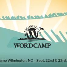 Upcoming WordCamp Wilmington 2018 is two weeks away!