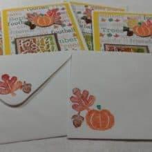 September Encouraging Words Seasonal Note Cards