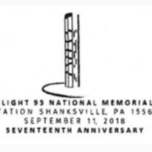 Friends of Flight 93 National Memorial Pictorial Postmark