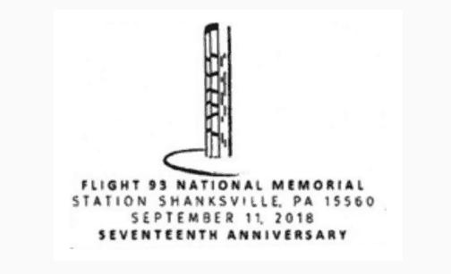 Friends of Flight 93 National Memorial Pictorial Postmark