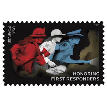 USPS Forever Stamp Honoring First Responders Available September 13