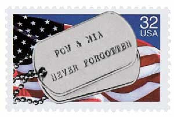 1995 USPS POW MIA Stamp