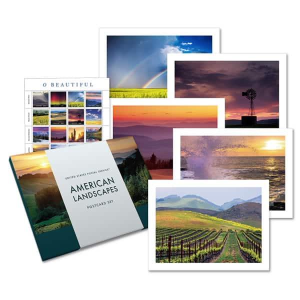 USPS American Landscapes Postcard Set