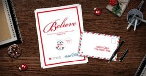 2018 Believe Macy's Make A Wish Letter Writing Campaign