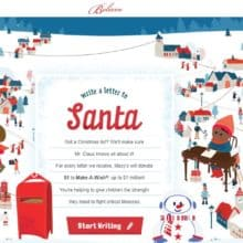 2018 Macys Believe Santa Letter Writing #MacysBelieve