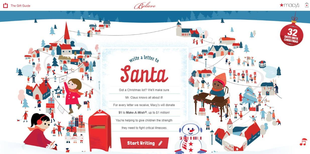 2018 Macys Believe Santa Letter Writing #MacysBelieve