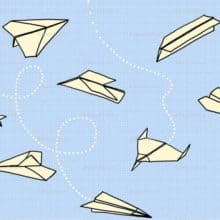 Call for Letter Writing Paper Aeroplanes for Christmas Tree Festival from The Handwritten Letter Appreciation Society