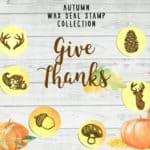 LetterSeals Autumn Wax Seal Stamp Collection