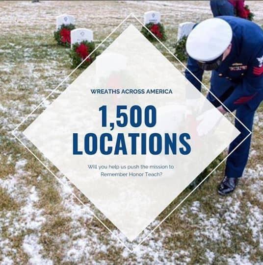 Wreaths Across America 2018 Wreath Sponsorship Deadline Approaching