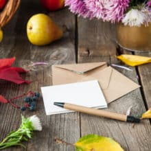 AnchoredScraps November 2018 Letter Writing Blog Recap