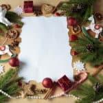 Sending Christmas Letter of thanks to…