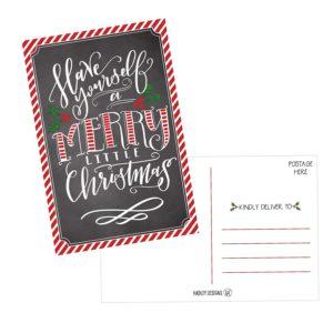 HadleyDesigns Holiday Christmas Postcards